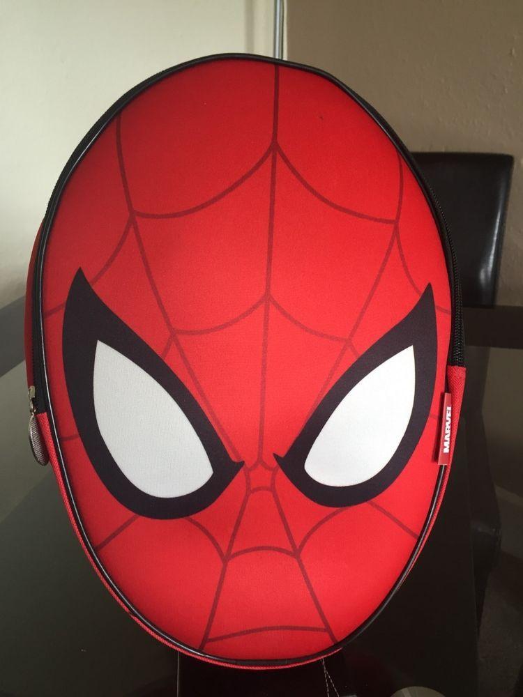 2d635331d4 Boys Marvel Spider-Man 3D Backpack School Bag