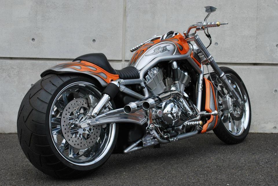 v rod custom from ken 39 s factory motos pinterest custom harleys and wheels. Black Bedroom Furniture Sets. Home Design Ideas