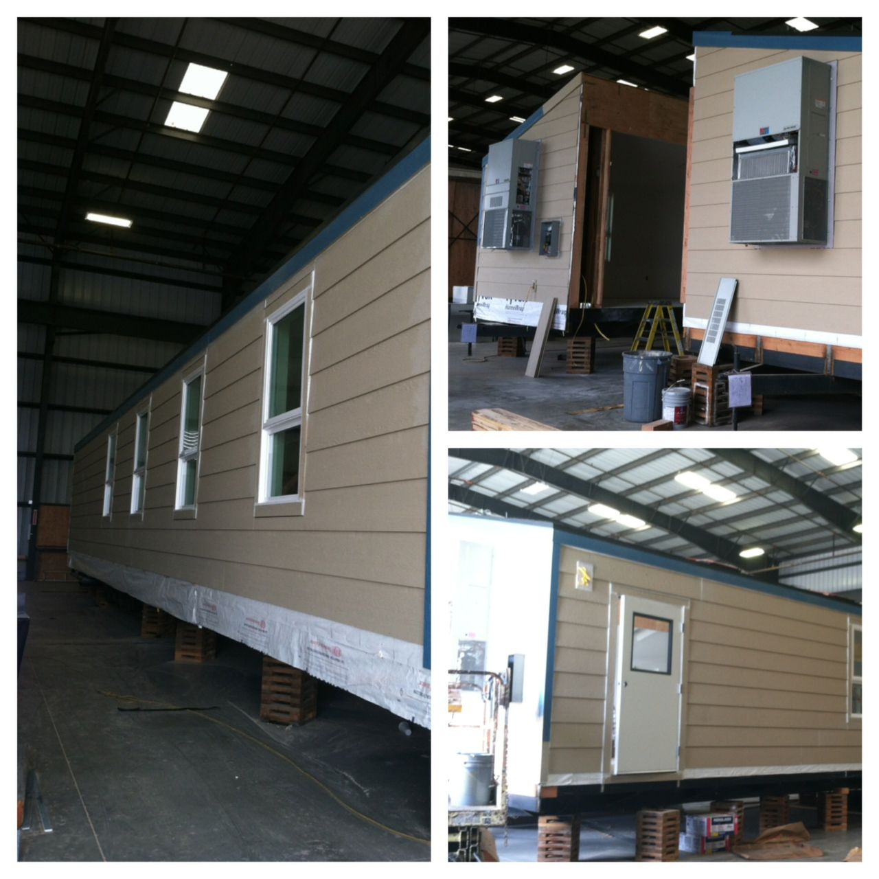 24x60 commercial modular building, custom designed and built in our factory. www.apitrailers.com