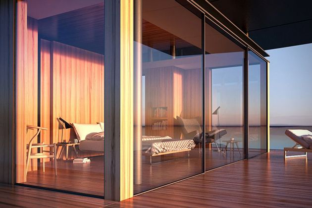 sustainable floating house concept 4 | dream house | pinterest | haus, Innenarchitektur ideen