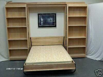 Murphy library panel bed queen do it yourself kit super deluxe murphy library panel bed queen do it yourself kit super deluxe system solutioingenieria Gallery