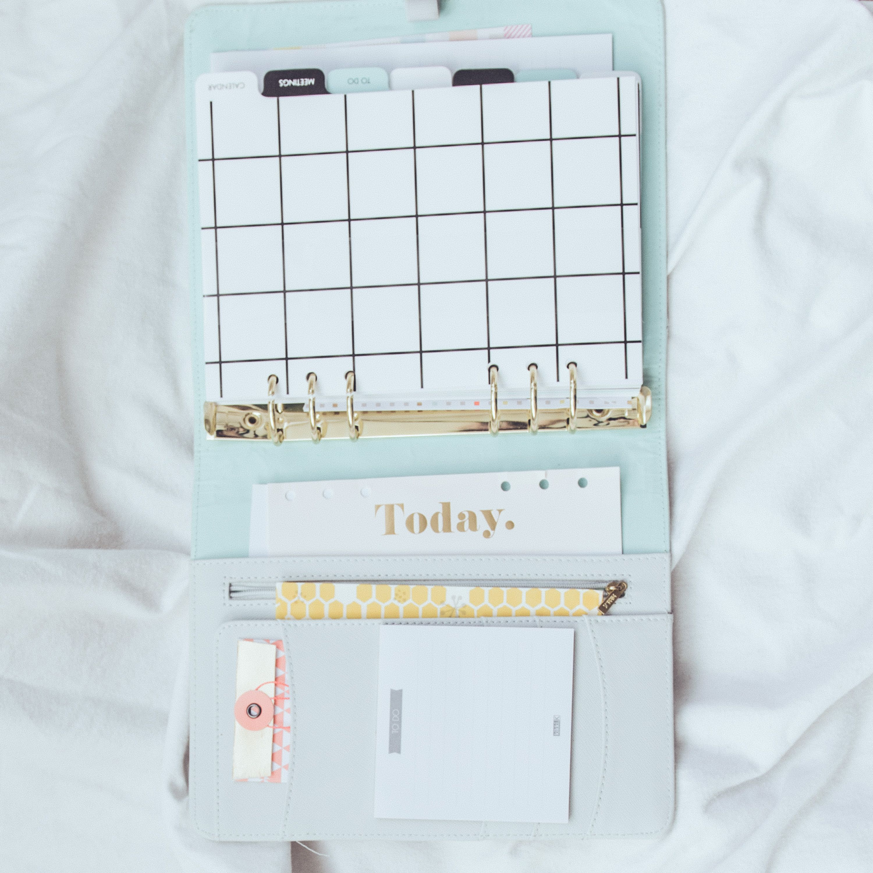I organise my life appointments routine and to do lists