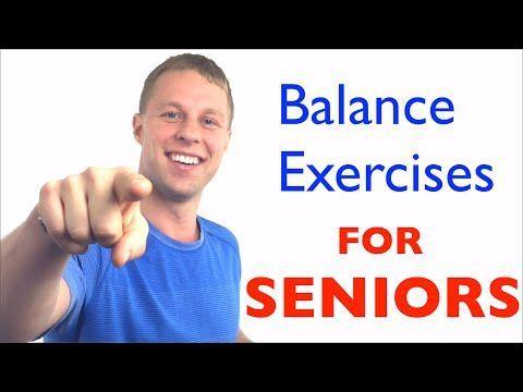 Balance Exercises for Seniors - Fall Prevention - Balance Exercises for Elderly ... - Senior fitness...