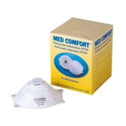 Med Comfort Ffp2d Filtr Halbm M Aktivkohlefilter 10 Stuck