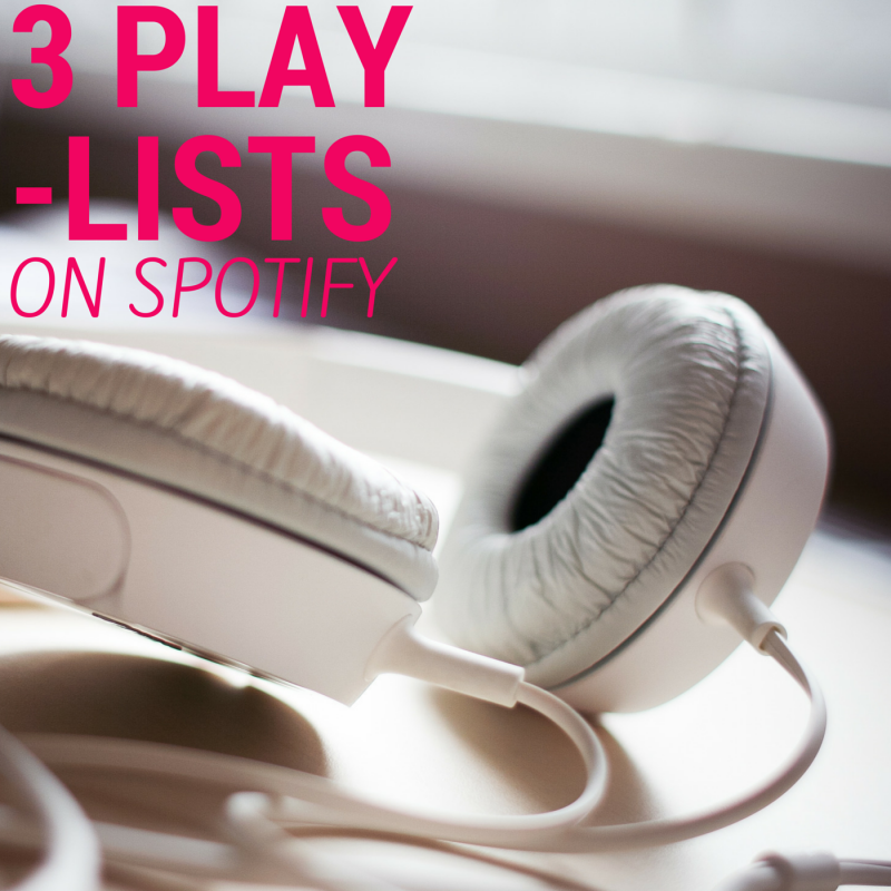 LISTENING TO… 3 PLAYLISTS | http://www.stinusit.dk/listening-to-3-playlists/