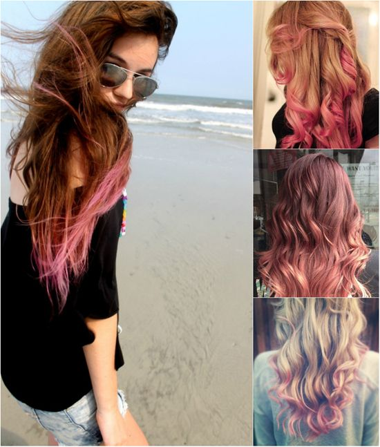 Sweet Colored Hairstyles You Can Try With Pink Hair Extensions