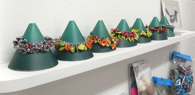 Bracelet Display Cones