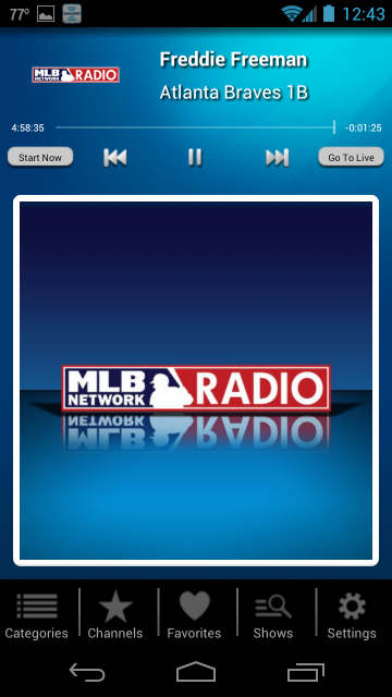SiriusXM For Android What's New in 2.0 Radio,