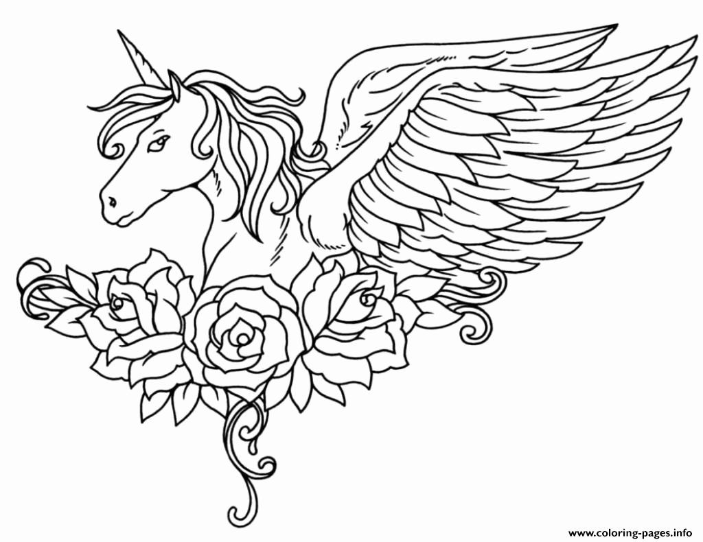 Baby Pegasus Coloring Pages Unique Coloring Exciting Unicorn