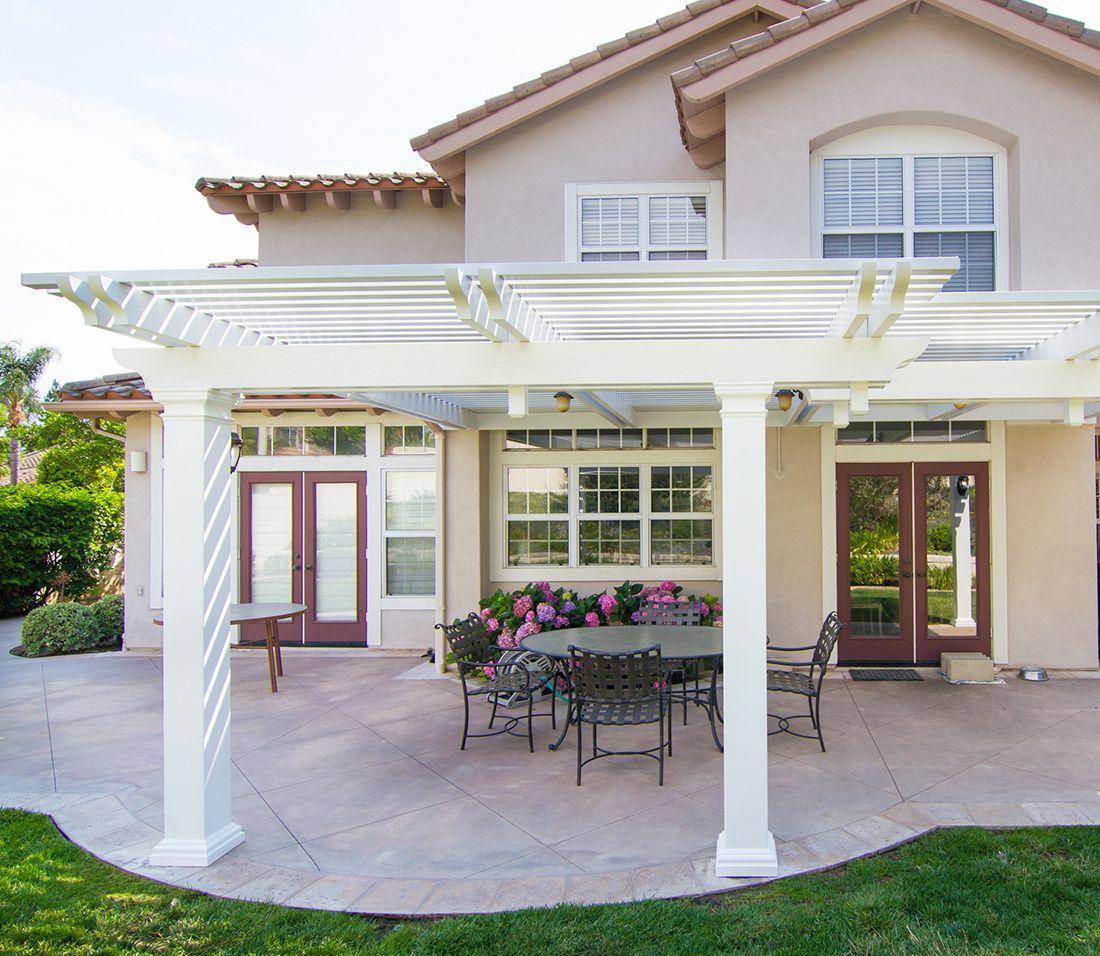 elitewood lattice patio covers four