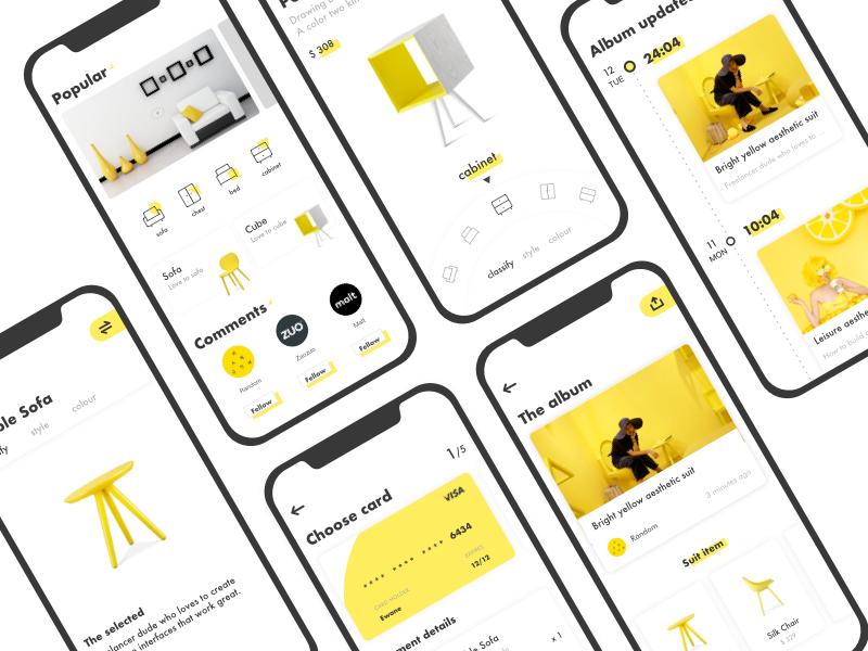 App Icon Aesthetic Yellow