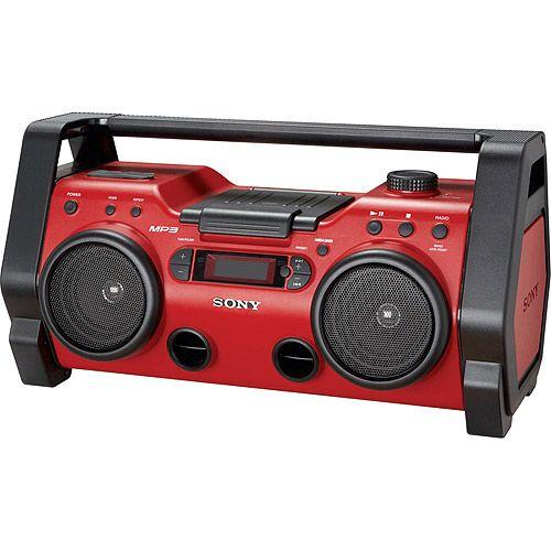 Boombox cd player | Radio Boombox, MP3 Player Boombox, Sony Heavy Duty Boombox, CD/Radio