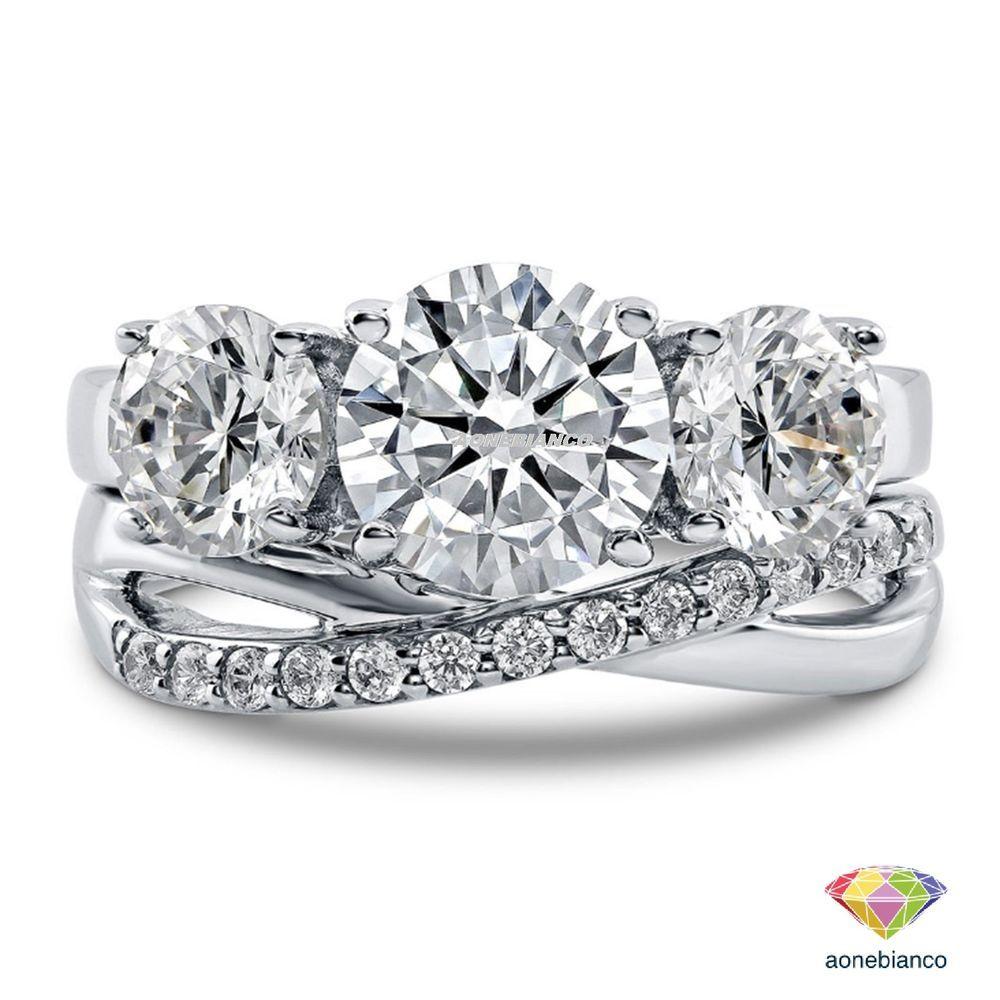 Ring Diamond Three Stone Engagement