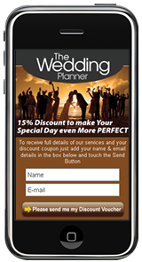 Mobile Landing Page Example by Most Pixels Mobile Marketing