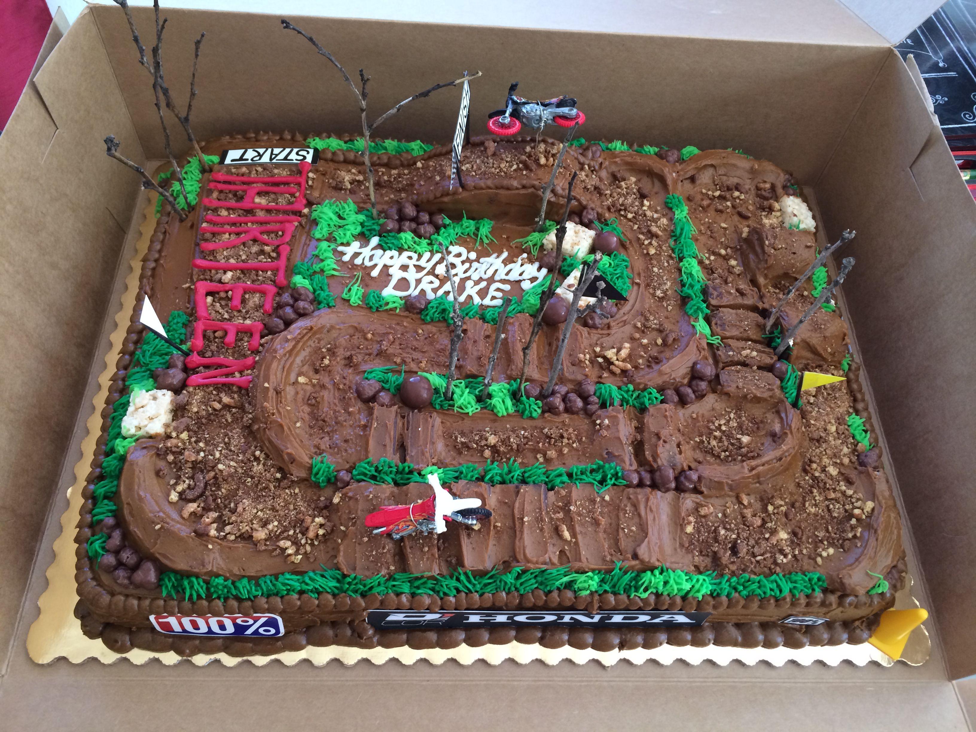 Outdoor Motorcross Track Cake Visit Https Store