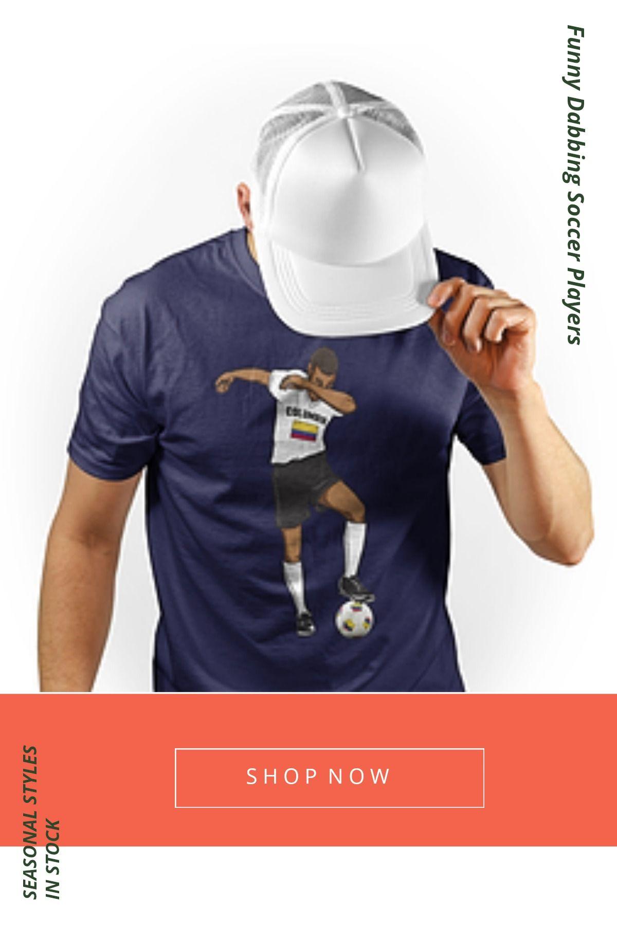 e95ac7c6f Funny Dabbing Soccer Players Kids Colombia Soccer T Shirt - Dabbing Player  Fan Boys  Soccer  Football  Sports  Futbol  Worldcup  Russia  Russia2018 ...