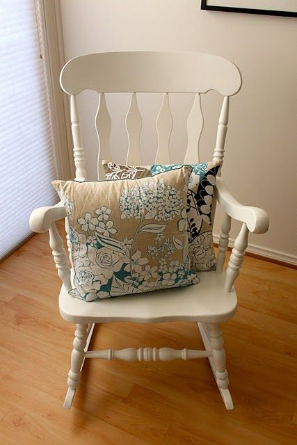 I Want One Of These Asap Rocking Chair Makeover Rocking Chair Redo Furniture Makeover