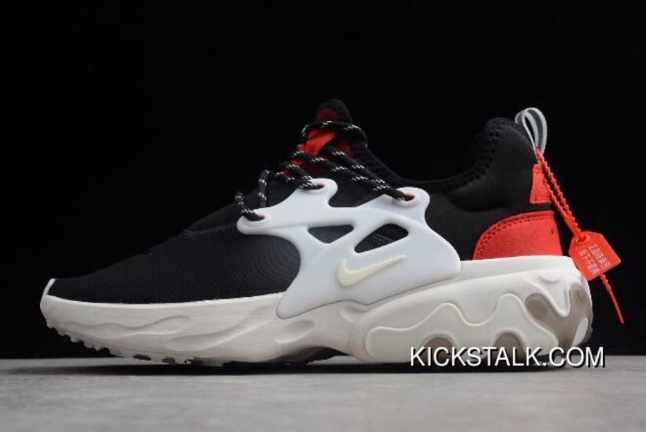 Nike Presto React Black Red White