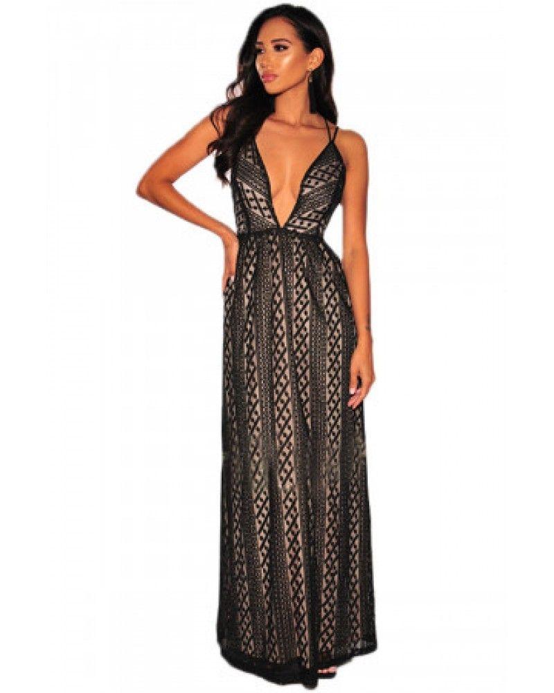 f3a70a28a69 Rochie maxi eleganta lejera Backless Maxi Dresses