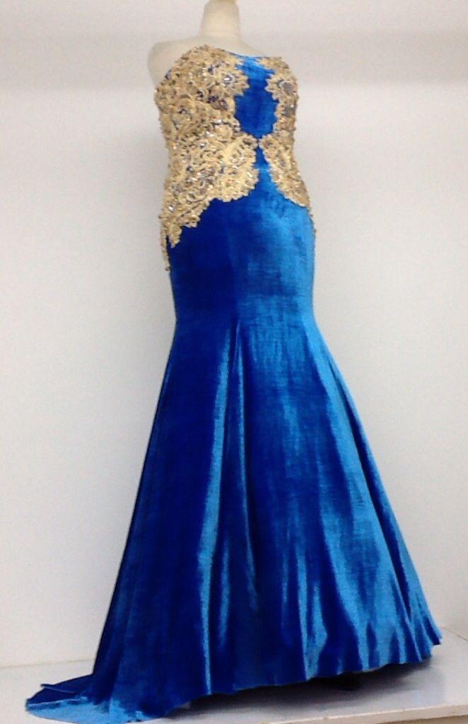 تصميم مع تطريز ذهبي يدوي على مخمل حرير مشغل شمعة الجزيرة 0504407092 Formal Dresses Long Formal Dresses Fashion