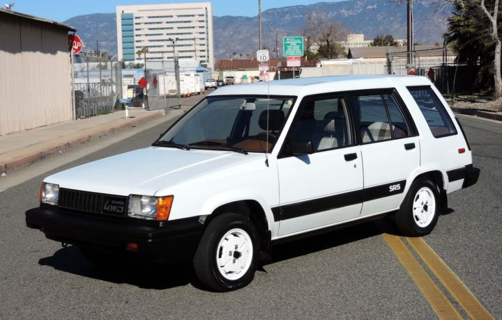 All Original & Well Kept: 1983 Toyota Tercel SR5 4WD