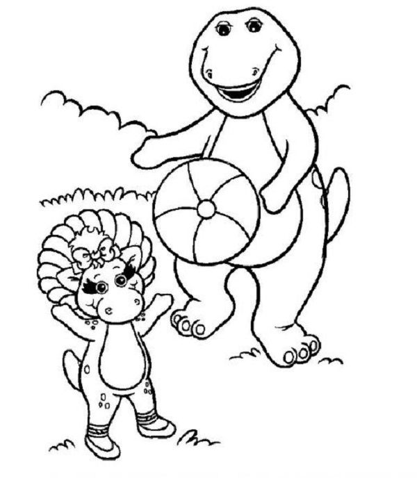 Barney Christmas Coloring Pages To Pint Cartoon Coloring Pages Dinosaur Coloring Pages Christmas Coloring Pages