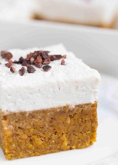 Photo of Sweet potato almond cake – vegan & gluten free