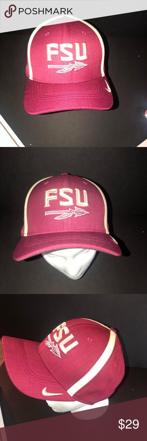 679095d3e Nike FLU FLORIDA STATE UNIVERSITY DRI FIT HAT Authentic Nike NFL ...