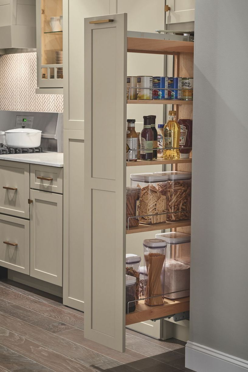 Pin By Holland Street Kitchens On Kitchen Goals In 2020 Kitchen Drawers Small Kitchen Decor Pull Out Pantry