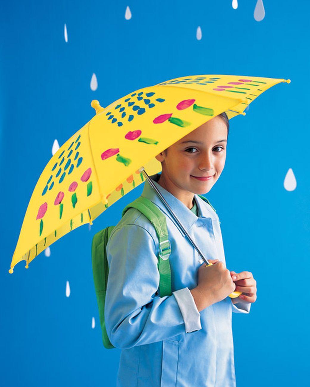 Painted Umbrella