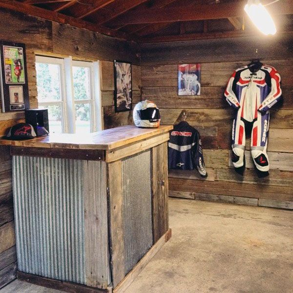 Slate Wall Panels Garage Man Cave Ideas Garage Storage: 100 Garage Storage Ideas For Men