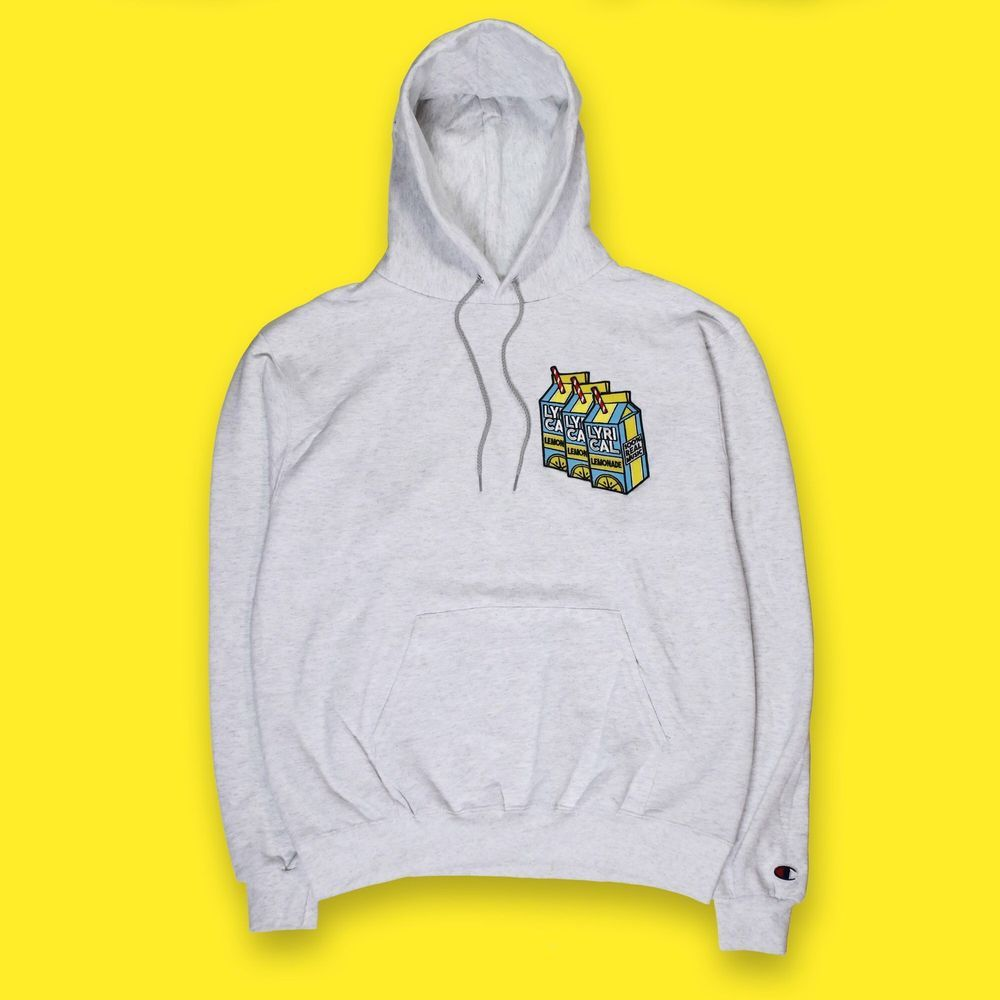 563246bd606e Lyrical Lemonade X Champions Triple Patch Hoodie  fashion  clothing  shoes   accessories  mensclothing  activewear (ebay link)