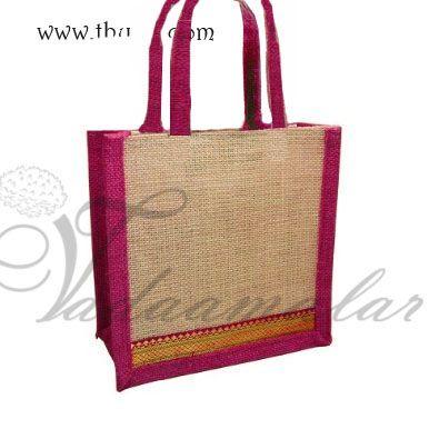 Eco Friendly Jute Bags Wedding Return Gifts
