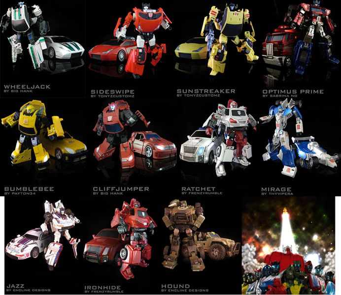 Transformers Generation 1 Autobots | Autobots Transformers ...