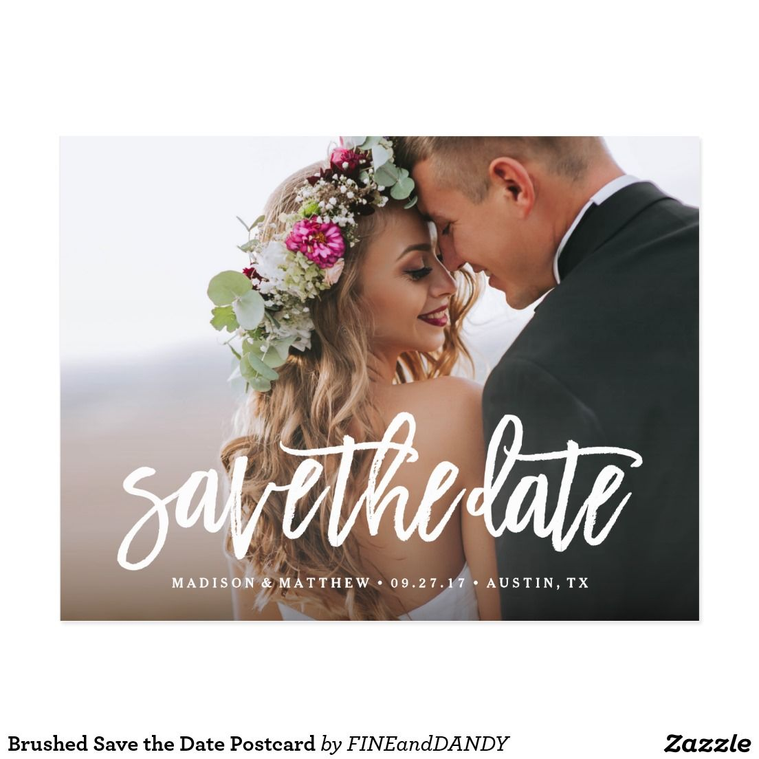 Custom save the date romantic picture photo wedding announcement custom save the date romantic picture photo wedding announcement invite invitation postcard savethedate wedding monicamarmolfo Image collections