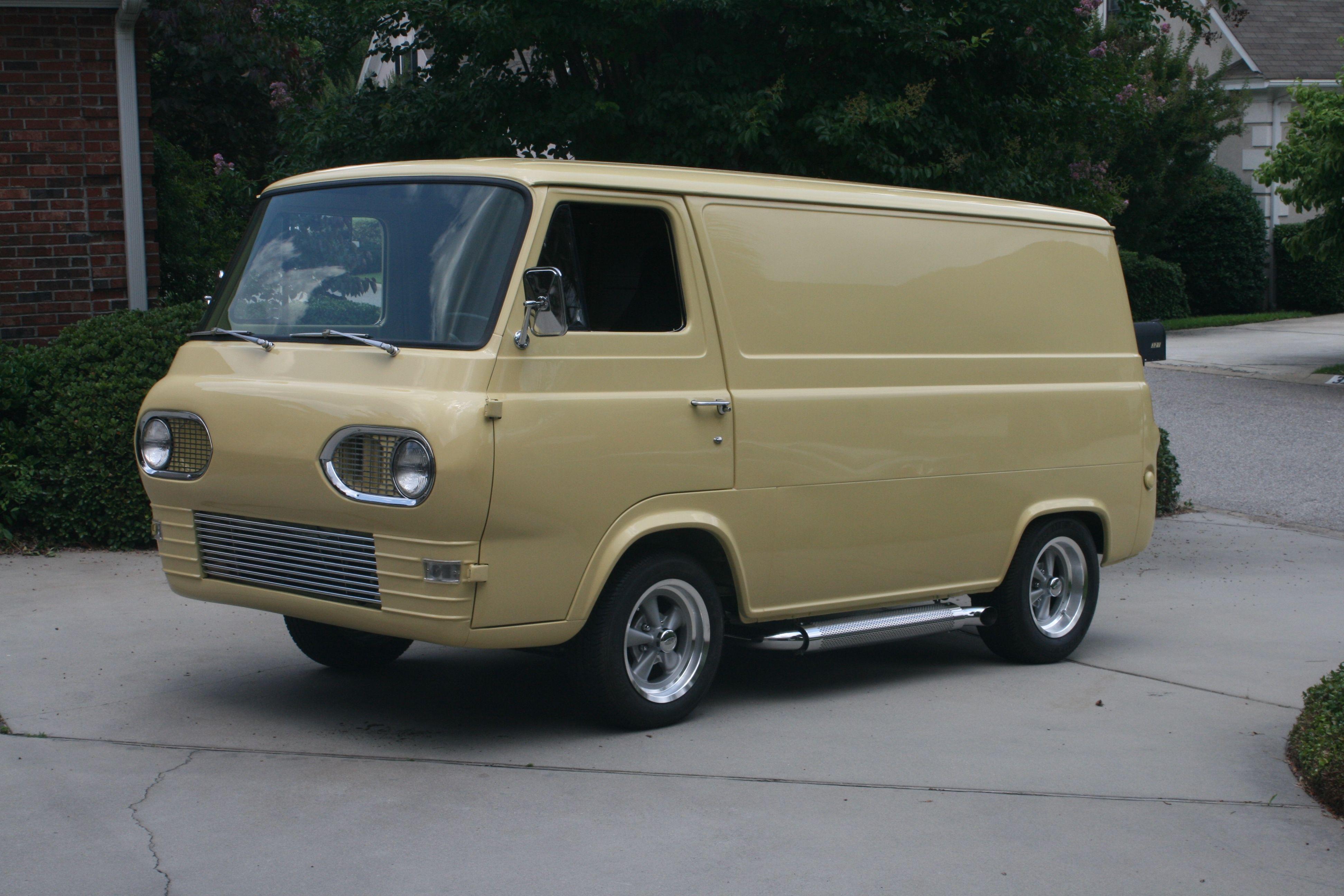 1964 Ford Econoline Ford Van Vans Vintage Vans
