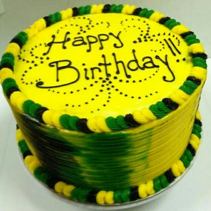 Swell Jamaican Birthday Cake With Images Birthday Cake Kids Personalised Birthday Cards Paralily Jamesorg