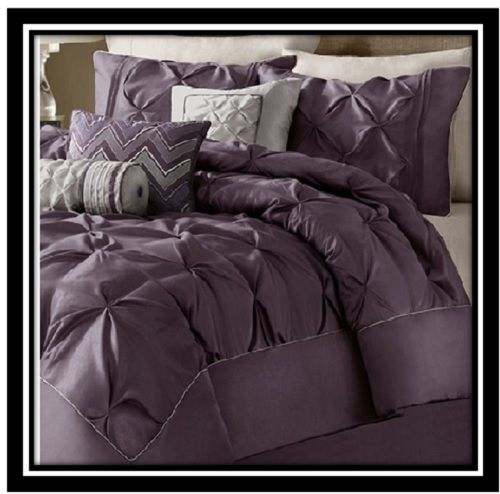 Beautiful plum/purple Duvet Cover Set