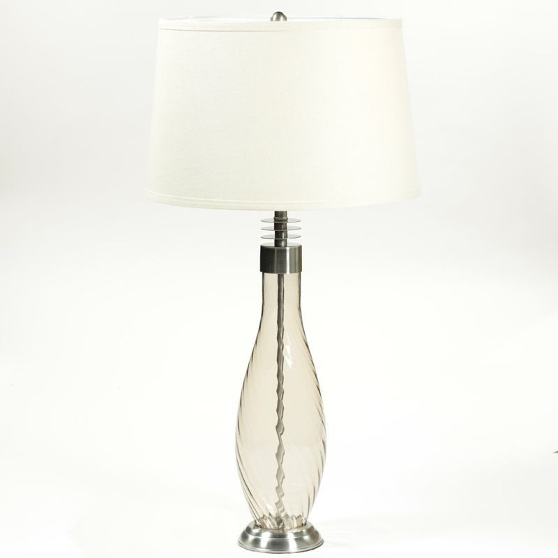"""30.5"""" H Table Lamp with Drum Shade"""
