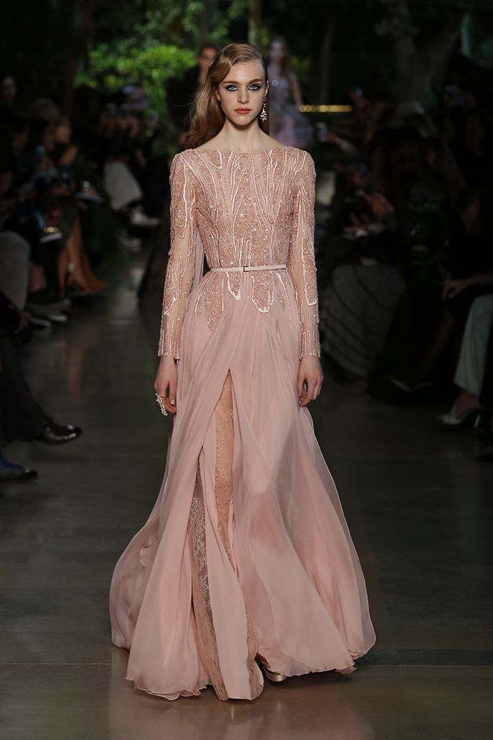 Elie saab haute couture spring summer 2015 knock them for Buy haute couture