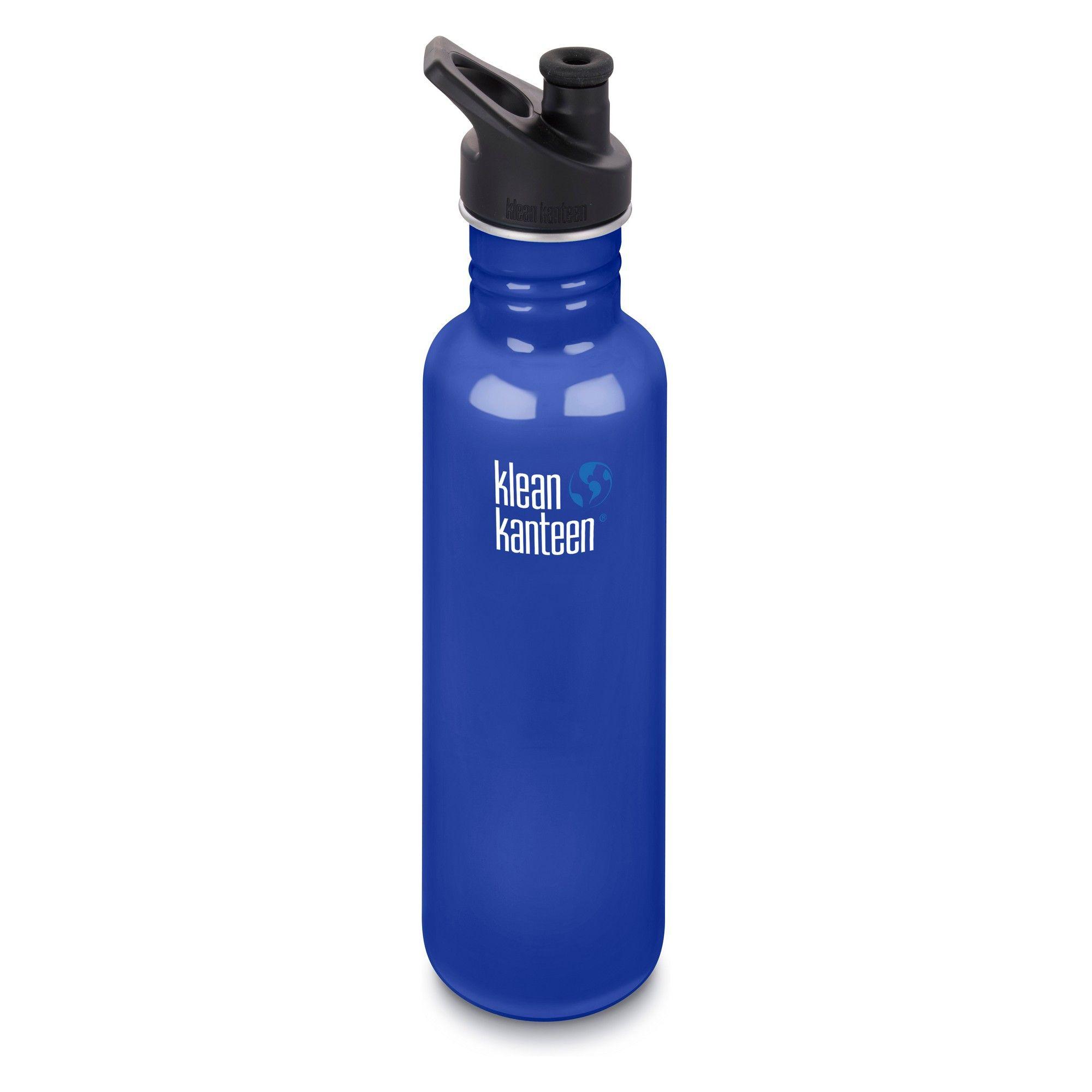 Klean Kanteen Classic Single Wall Stainless Steel Water Bottle with Leak Proof Loop Cap K27WSSL-BS-Parent