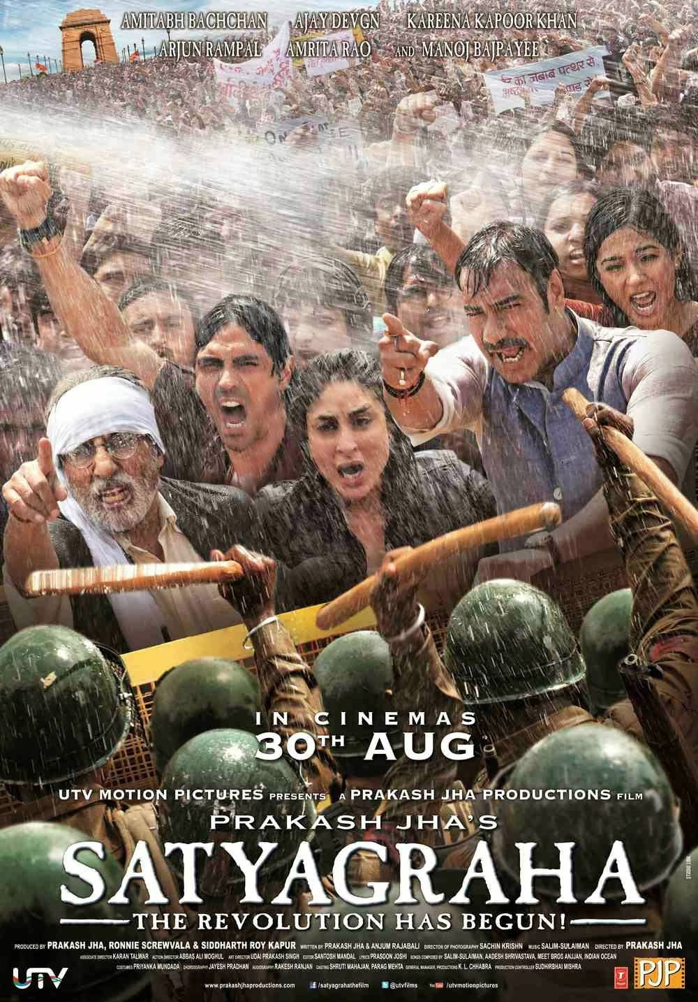 Image result for Satyagraha (2013) wallpaper