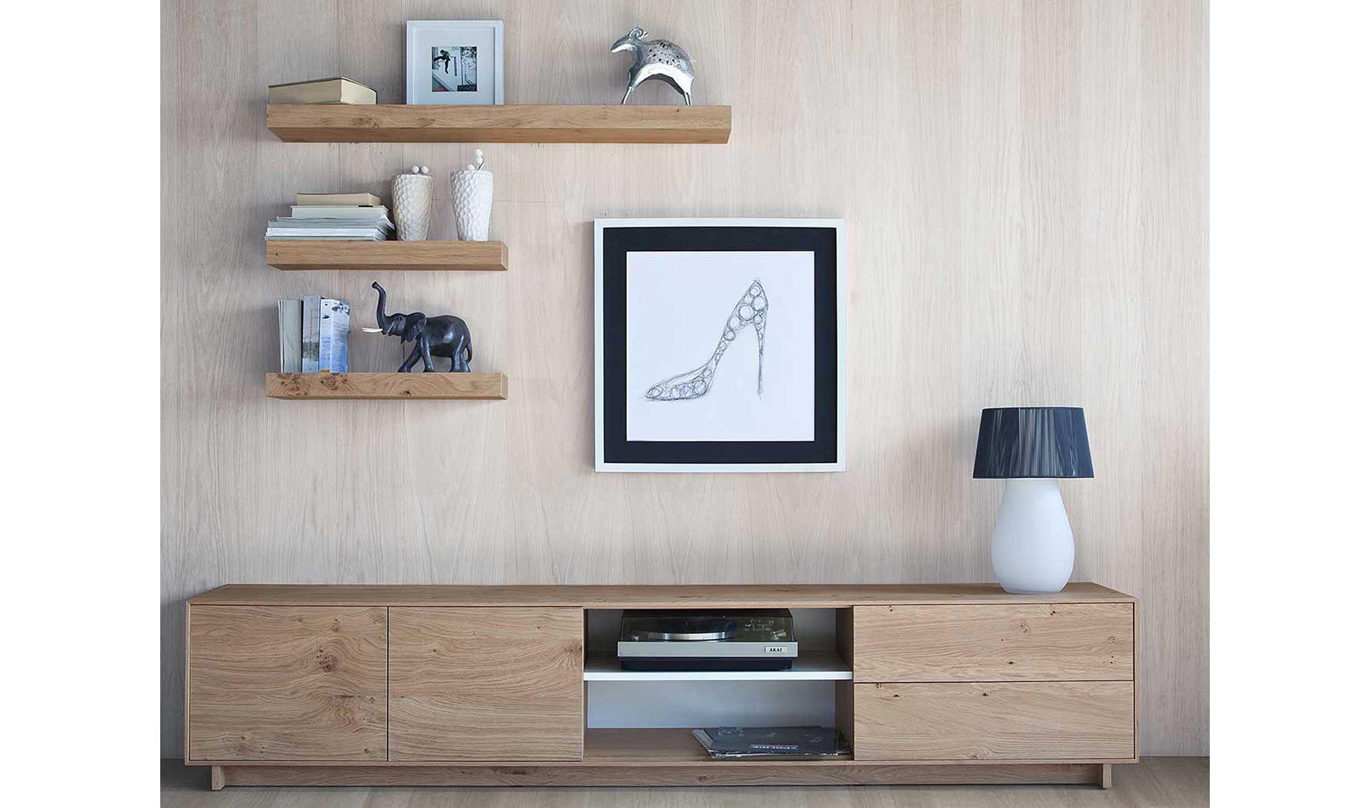 Mueble de tv nordic purline en 2019 home muebles para - Nogal americano muebles ...