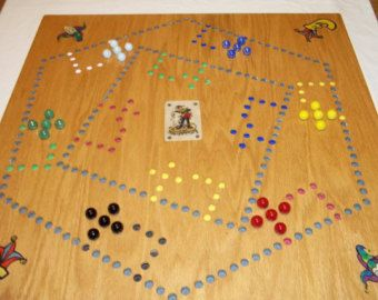Pegs And Jokers And Marbles 4 Amp 6 Player Board With