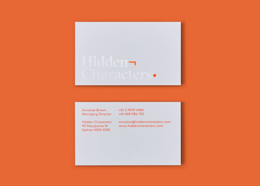 03-Hidden-Characters-PR-Branding-Business-Cards-RE-Sydney-Australia ...