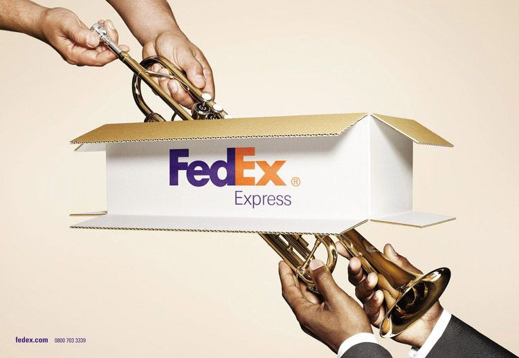 Mind Blowing Resources 20 Brilliant Fedex Print Advertisement Campaigns Ads Creative Print Advertising Clever Advertising