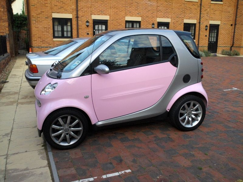 Pink Smart Car I Just Need Two One For Each Foot