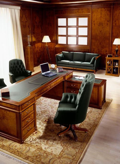 Resultado de imagen de oficina clasica oficina clasica for Decoracion estilo clasico