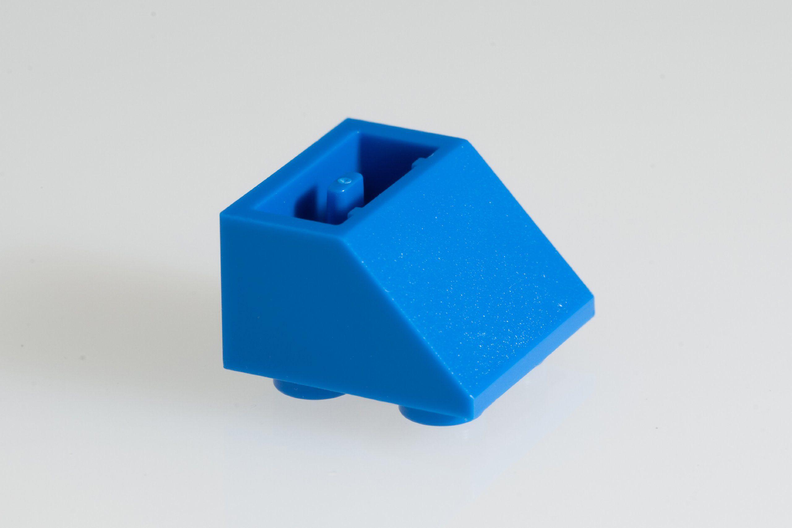 100x Lego Bright Blue Blue 2x2 45 Deg Inv Roof Tiles Super Pack Lego Roof Tiles Bright Blue