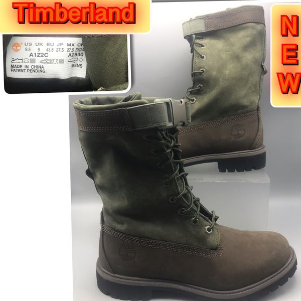 Timberland Men's Special Release Leather Gaiter Boots 9.5